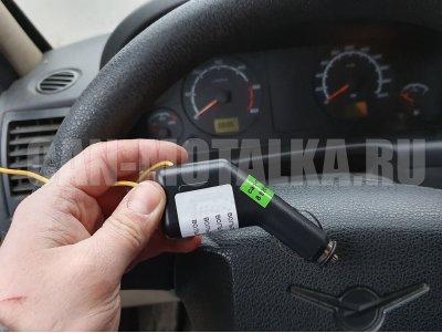 Подмотка спидометра УАЗ Патриот с датчиком скорости (зеленый дисплей)